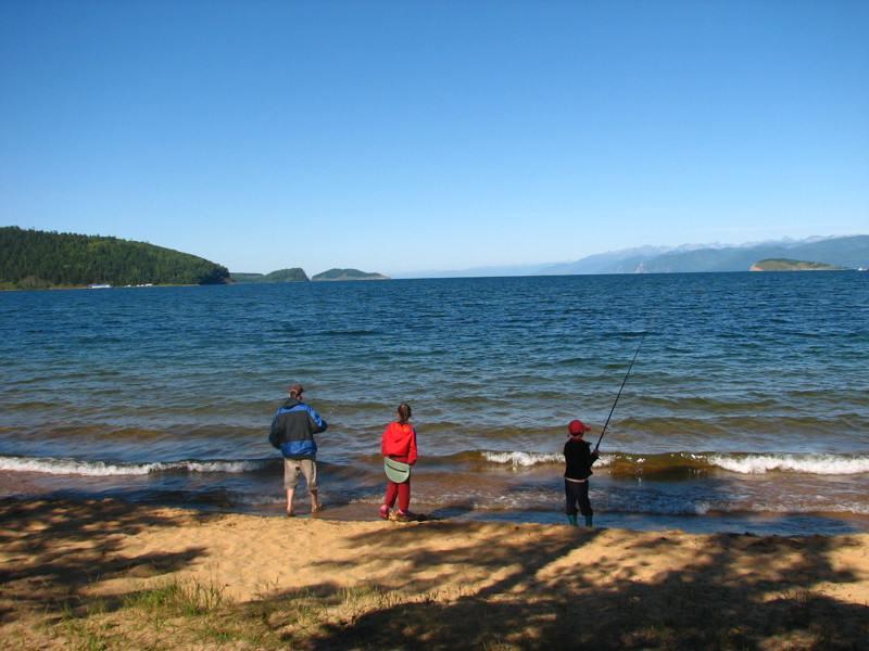 летний отдых на байкале с рыбалкой