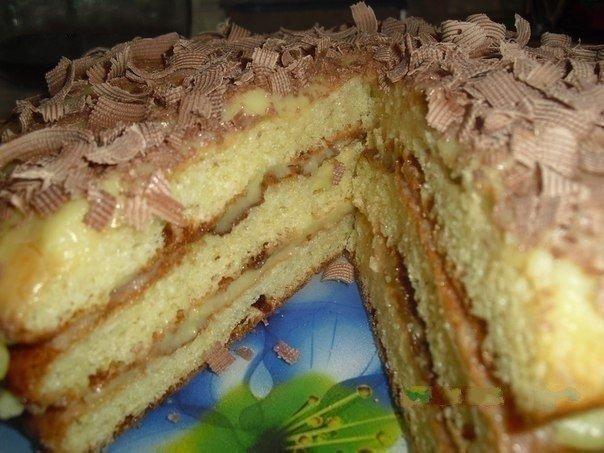Творожный тортик «Пышный». Простой и очень вкусный!