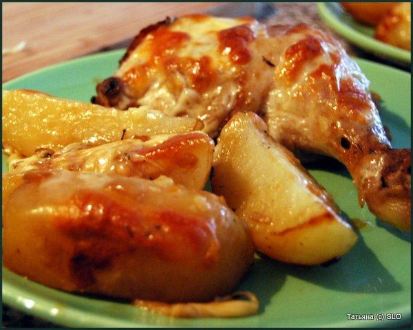 Курочка в Вустерском (Worcestershire) соусе. Фото-рецепт.