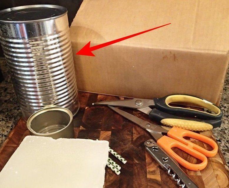 Идеи применения жестяных банок