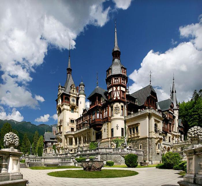 Замок Пелеш. Румыния.
