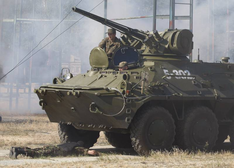 На Украине стартовала активная фаза учения Rapid Trident