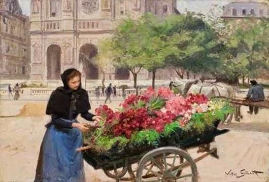 Виктор Жильбер: Французский художник жанровых сцен