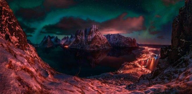 Северное сияние. Автор: Max Rive.