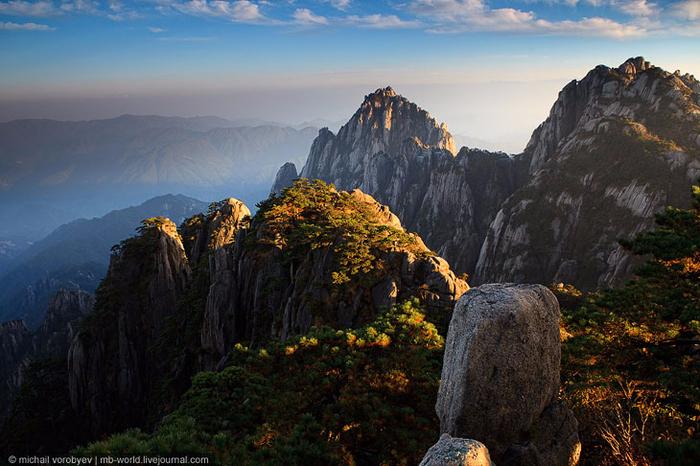 Горы Хуаншань. Невероятная красота