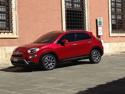 Новый кроссовер Fiat 500X «сбежал» до презентации