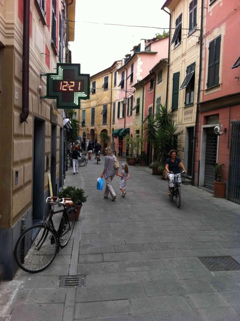 Итальянский город Леванто