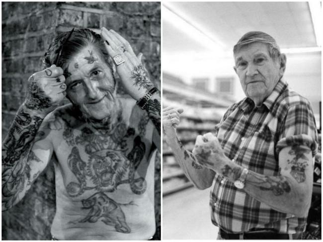 А вы знаете, как будут выглядеть ваши татуировки в старости?