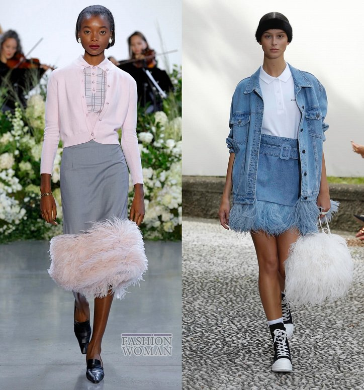 Модные юбки весна-лето 2019 фото №54
