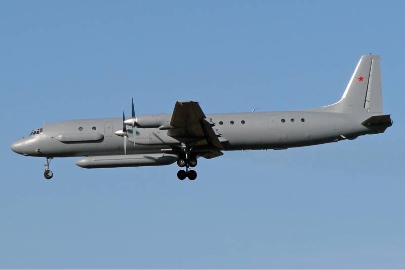 В воздушном пространстве Сирии сбит Ил-20 ВКС РФ