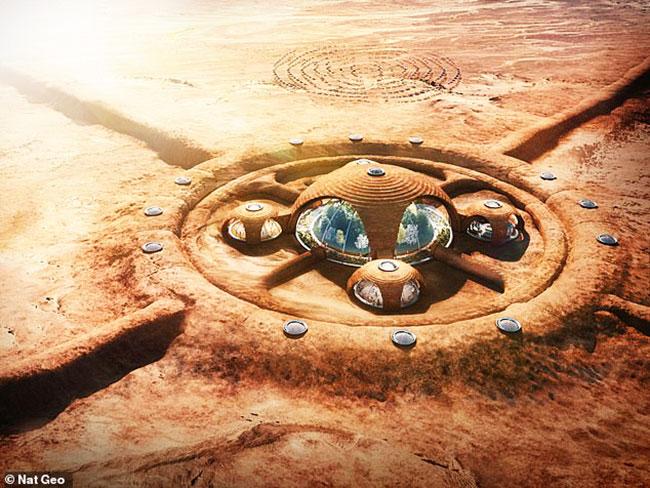 Марсианское жилье от $460000 до 3300000$