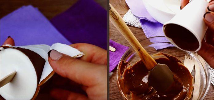 Идеальный пломбир в шоколаде