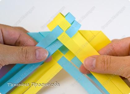 Мастер-класс Поделка изделие Плетение Плетёные птички Бумага фото 12