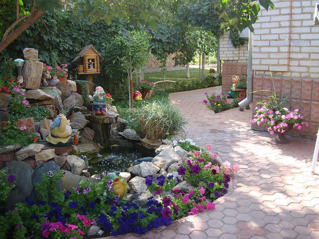 Фантазии в огороде