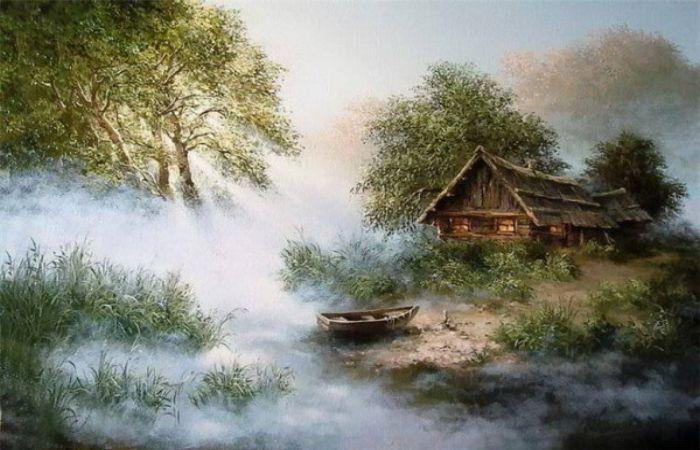 В лучших традициях Шишкина: 19 проникновенных пейзажей русской глубинки, которые оценили иностранные коллекционеры