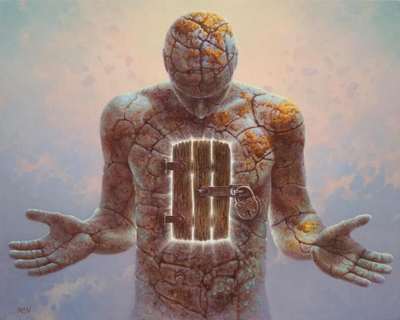 Люди живут в помраченном состоянии сознания