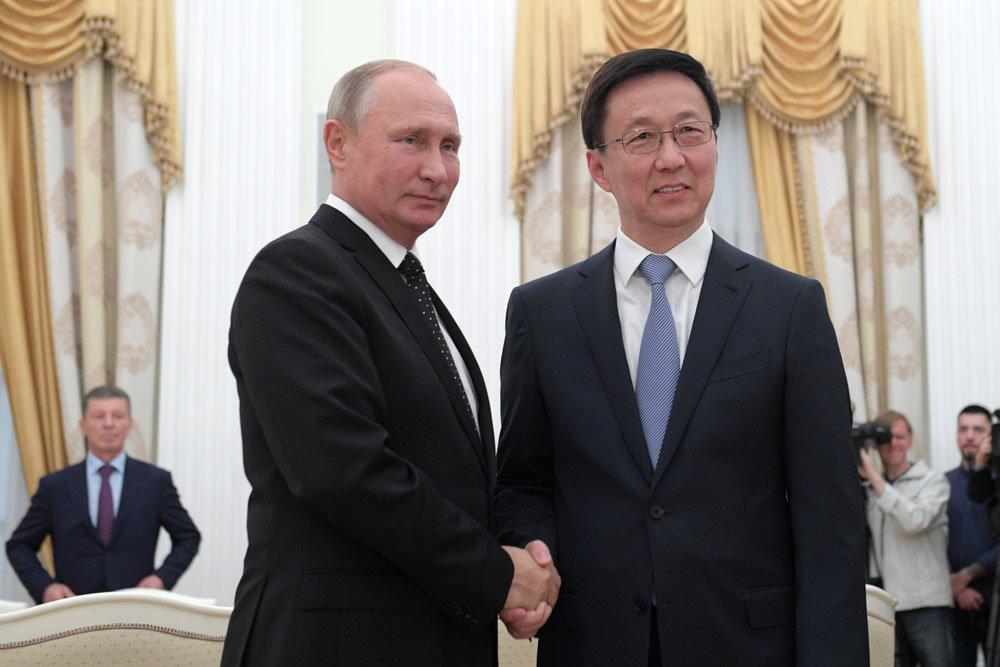 Путин заявил о новых амбициозных целях России и Китая