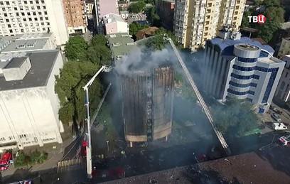 Пожар в гостинице Ростова-на-Дону потушен