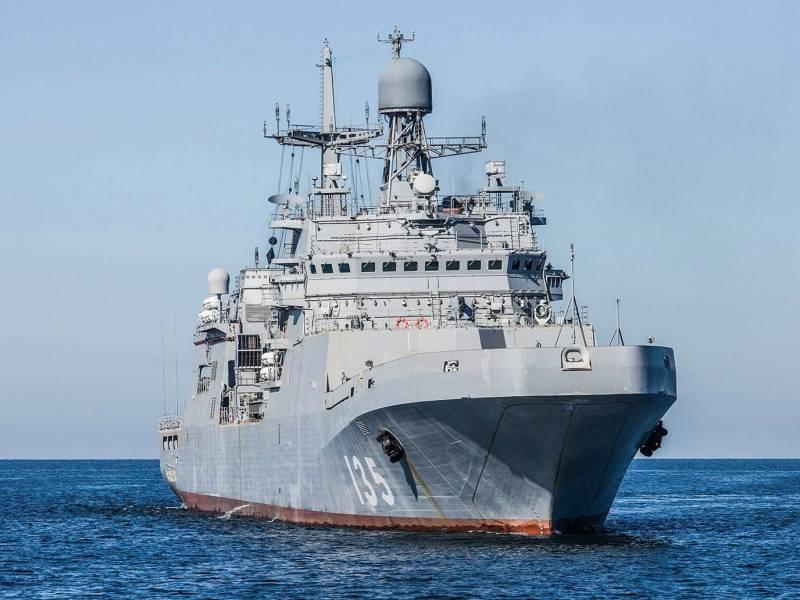 Большой десантный корабль проекта 11711 «Иван Грен» и его возможности