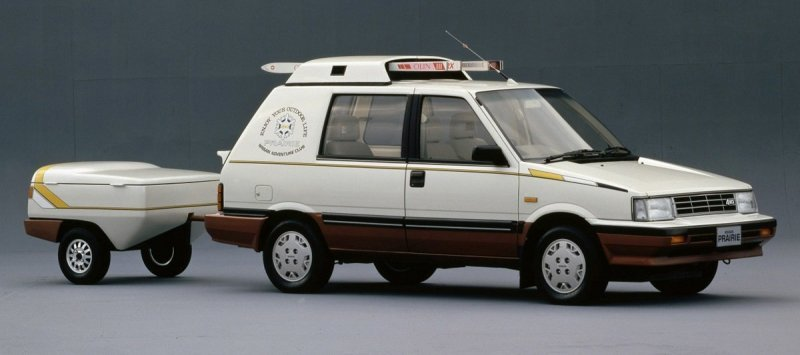 Nissan Prairie 4WD Winter Space Wagon 1985 – Концепт для любителей зимних видов спорта