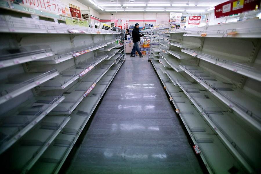 Голод в Крыму.