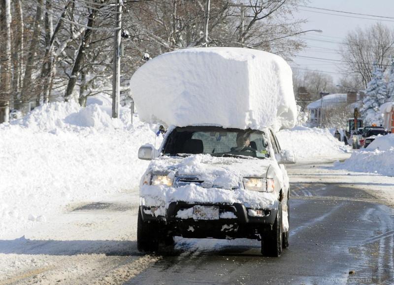 Русская Зима - укрепляем крыши