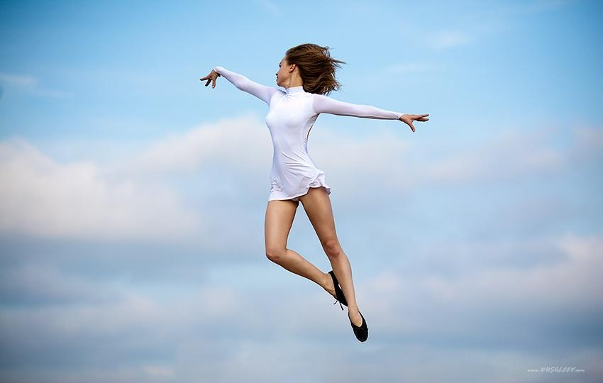 Как взлетать телом