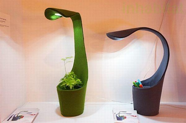 Лампа для офисных садоводов (5 фото)
