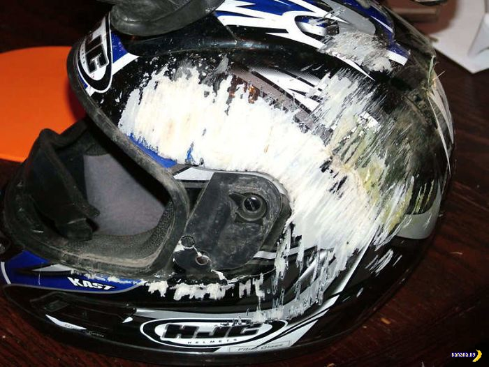 Когда шлем спас: шлемы и каски