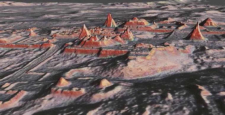 Ученые создали 3D карту затерянного города майя
