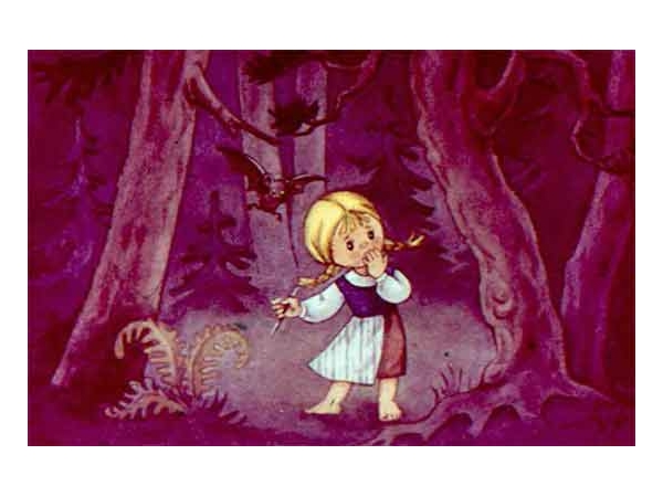 Маша в лесу. Сказка