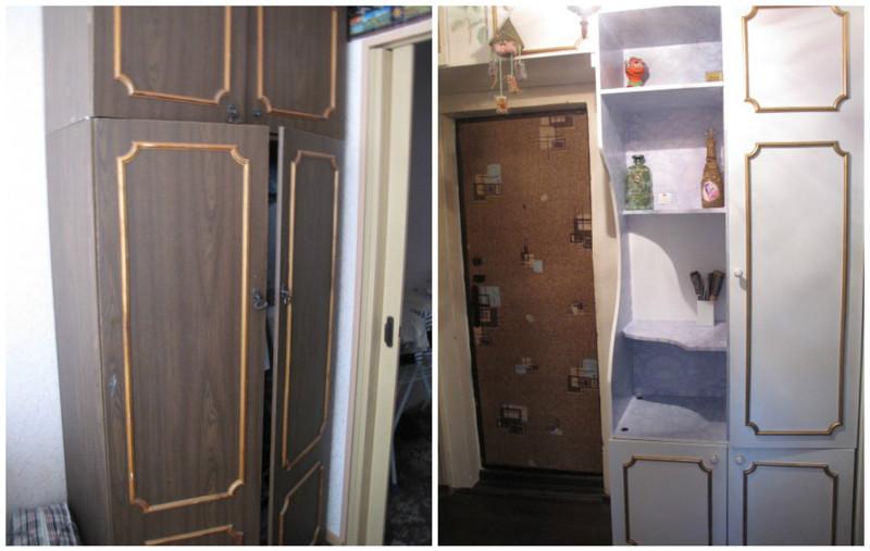 Такой шкаф был, наверное, в каждой квартире...  мебель, новая жизнь, переделка, старье