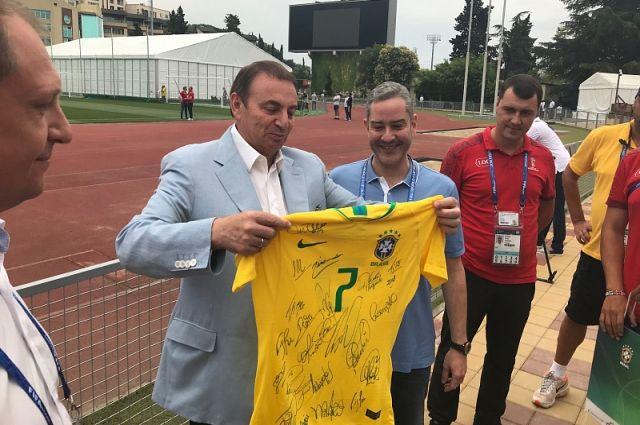 Бразильцы по-русски поблагодарили Сочи за теплый прием