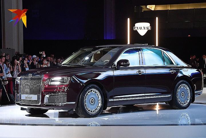 Немецкое здание Die Welt оценило российские автомобили Aurus