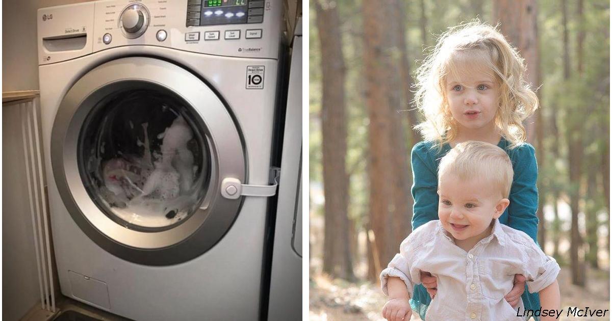 Они нашли свою 3-летнюю дочь в барабане стиральной машины! И теперь просят всех...