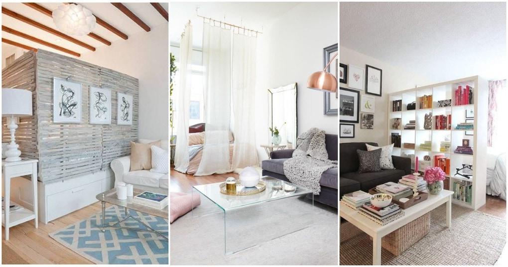 25 способов выделить спальню в маленькой квартире