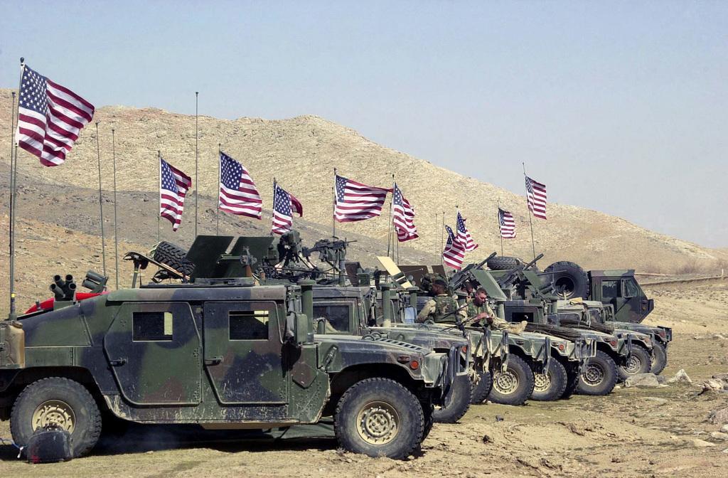 Американские военные будут в…
