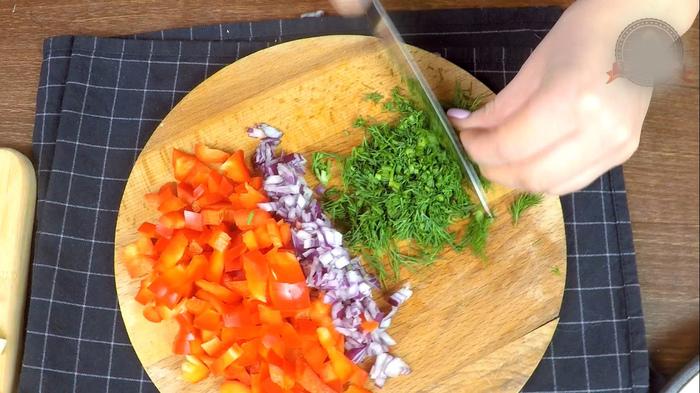 """Салат """"Одиночество с Капустой"""" Рецепт, Салат, С дедом за обедом, Еда, Видео, Длиннопост, Кулинария, Капуста, Витаминный салат"""