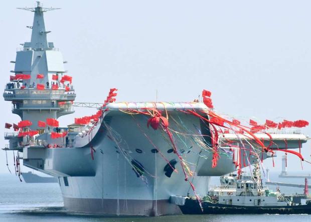 Первый китайский авианосец п…