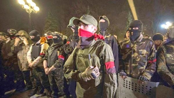 «Правый сектор» идет на Киев. Воззвание партии украинских националистов