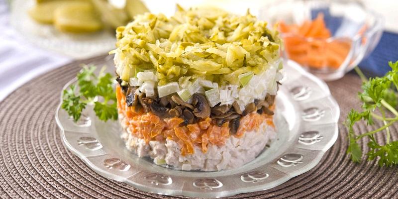 Полосатый салат
