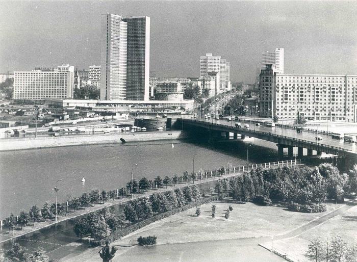 Новый вид старого города, 1972 год.