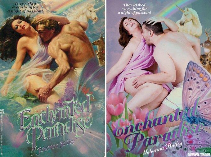 Что будет, если на обложку любовного романа поместить обычных людей