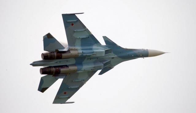 Минобороны показало возможности истребителя Су-30СМ