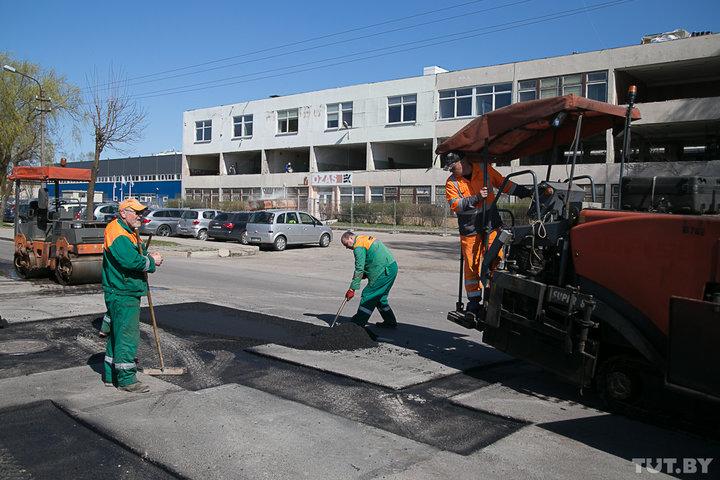 Как в Литве ремонтируют дороги