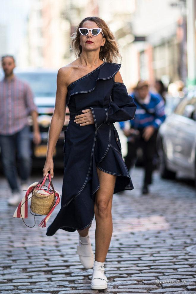 Неделя моды в Нью-Йорке весна-лето 2018: уличный стиль