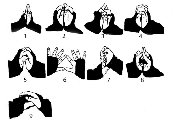 Мудры - пальцовки (Магия ниндзя)