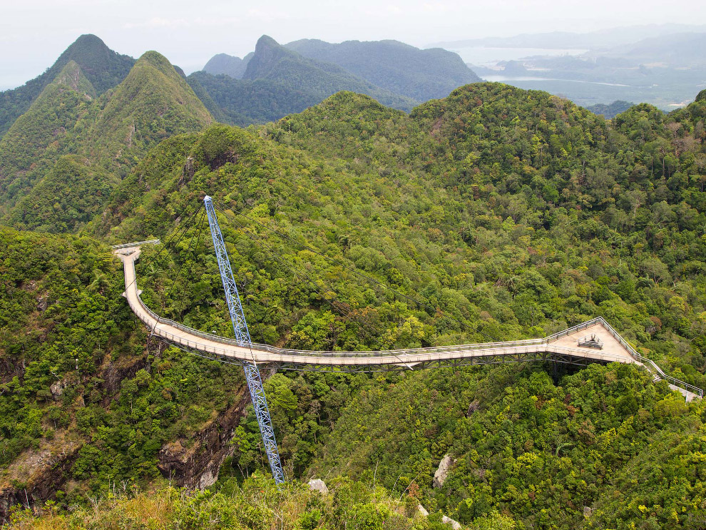 «Небесный мост» на острове Лангкави (Langkawi Sky Bridge)