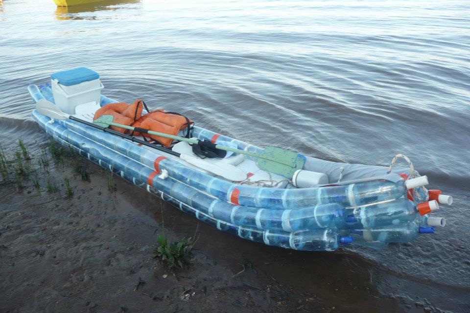 Лодка своими руками из бутылки