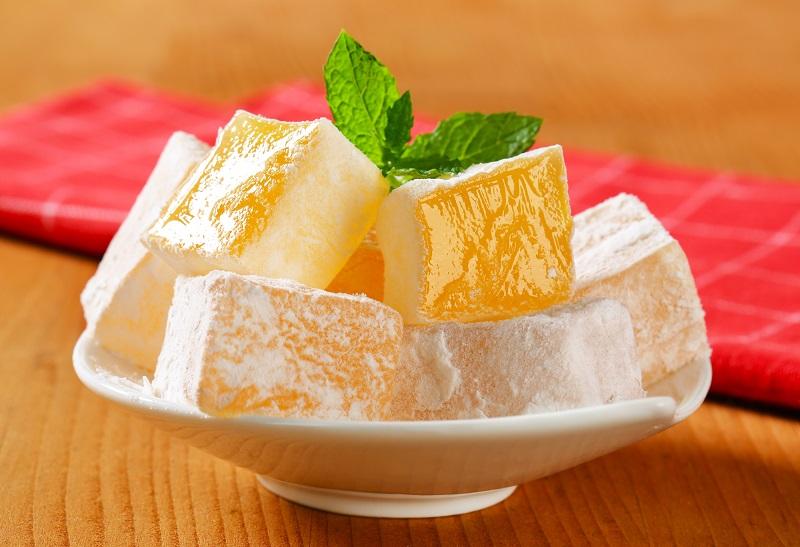Как приготовить мандариновый рахат-лукум
